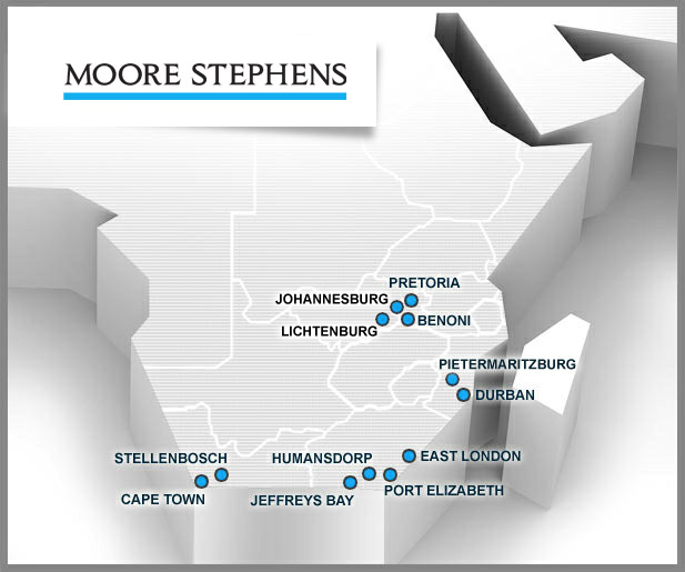 MooreStephens Map